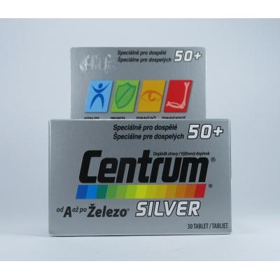 Centrum Silver 50+ s Multi-Efektom 100 tbl