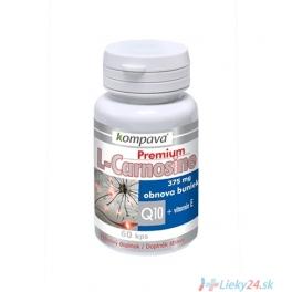 KOMPAVA Premium L-Carnosine 60 cps